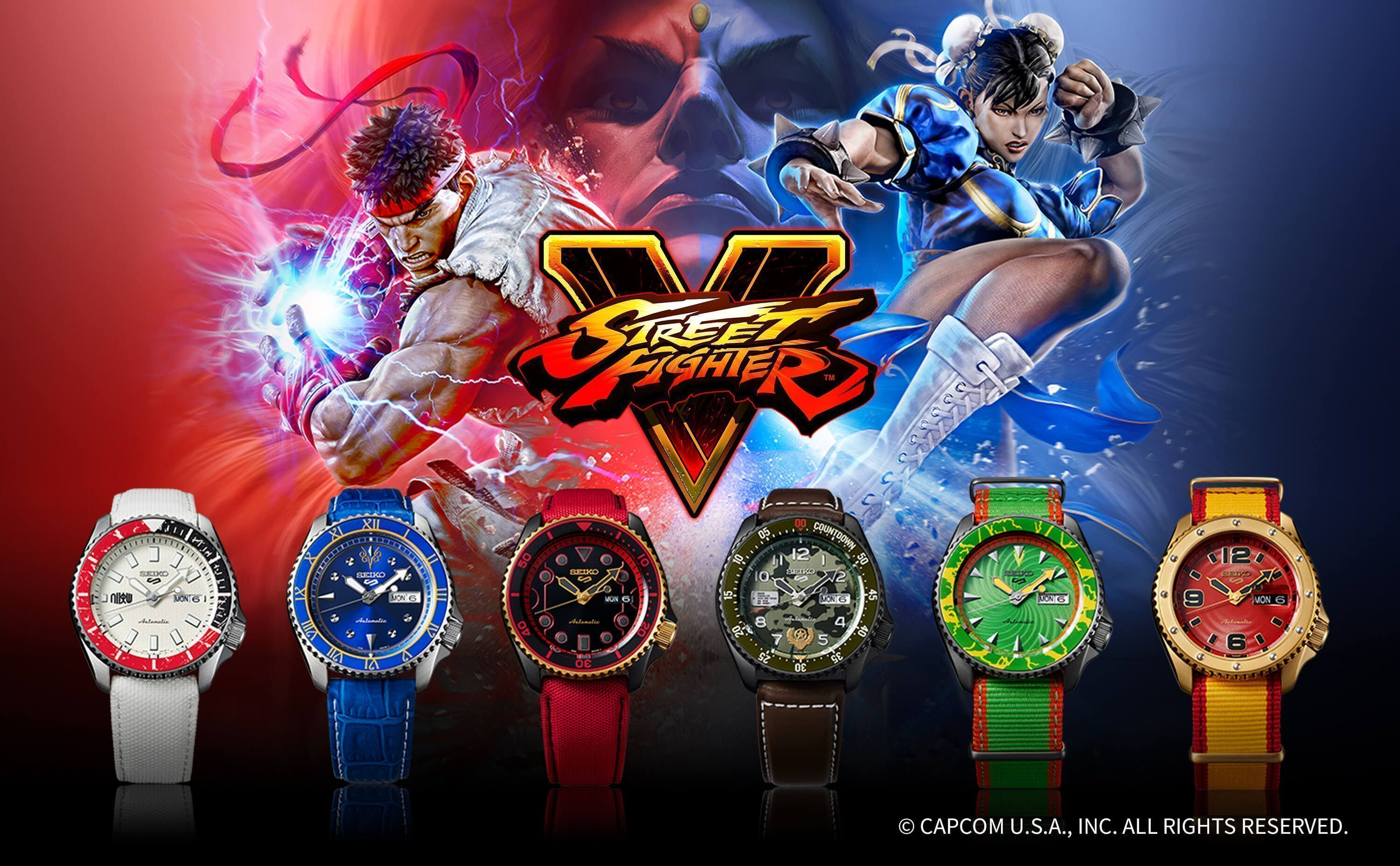Seiko 5 - Street Fighter V