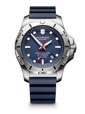 Victorinox I.N.O.X. Blue Rubber Professional Diver's 241734 Watch