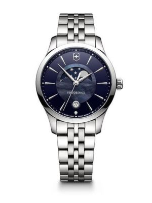 Victorinox Alliance Small Moon Phase Diamond Quartz 241752 Horloge