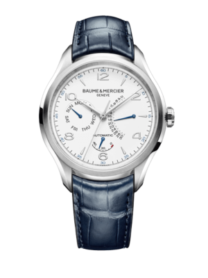 Montre Baume et Mercier Clifton Baumatic Automatic Retrograde Power Reserve 10449