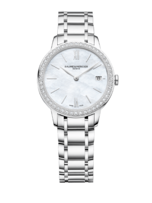 Montre Baume et Mercier Classima Lady Quartz Diamond 10478