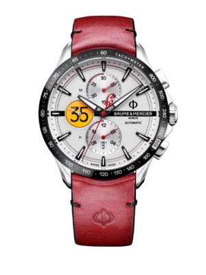 Baume et Mercier Clifton Club Chronograph 'Indian Motorcycle' Limited Edition M0A10404 Watch