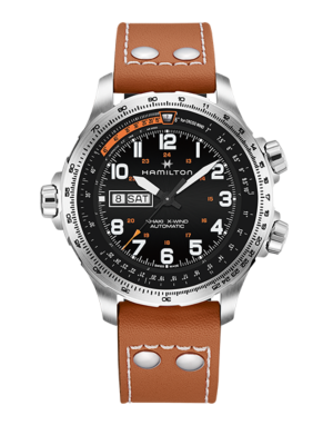 Montre Hamilton Khaki Aviation X-Wind Day Date Automatique H77755533