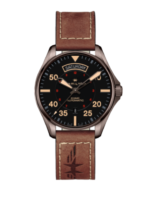 Montre Hamilton Khaki Aviation Day Date Auto H64605531