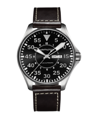 Montre Hamilton Khaki Aviation Pilot Day Date Auto H64715535