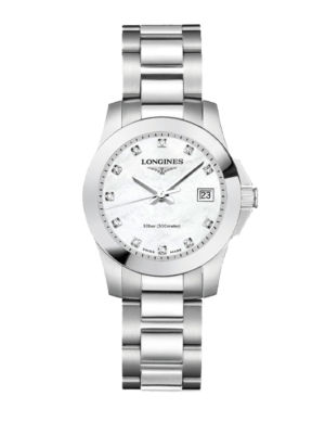 Longines Conquest Quartz L3.376.4.87.6 Horloge