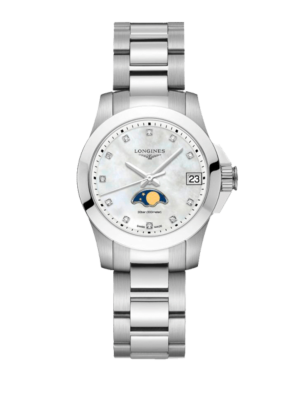 Longines Conquest Moonphase L3.380.4.87.6 Horloge