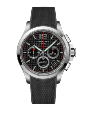 Montre Longines Conquest V.H.P. Chronographe L3.717.4.66.9