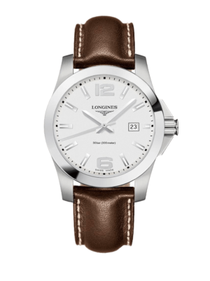 Longines Conquest Quartz L3.759.4.76.5 Horloge