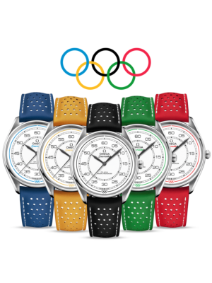 Omega Seamaster Olympic Official Timekeeper Limited Edition Set