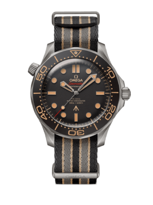Omega Seamaster Diver 300m Co-Axial Master Chronometer 007 Edition 21092422001001 Watch