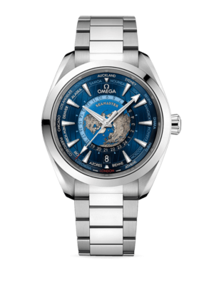 Omega Seamaster Aqua Terra 150M 43mm GMT Worldtimer 220.10.43.22.03.001 Watch