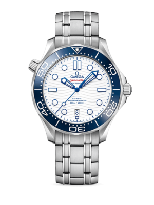 Omega Seamaster Diver 300M TOKYO 2020 Special Edition 522.30.42.20.04.001 Watch
