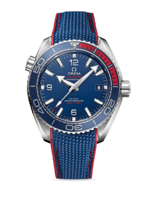 Omega Seamaster Planet Ocean 600M Co-Axial Master Chronometer Olympic Collection PyeongChang 2018 Limited Edition 522.32.44.21.03.001 Horloge