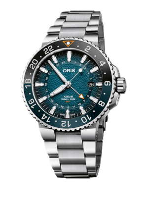 Oris Aquis GMT Whale Shark Limited Edition 01 798 7754 4175-Set Horloge