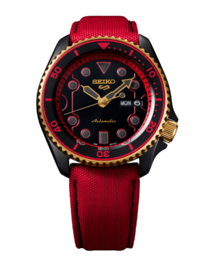 Montre Seiko 5 Sports Street Fighter V Limited Edition Ken SRPF20K1