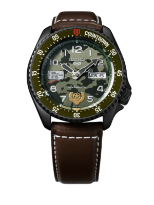 Montre Seiko 5 Sports Street Fighter V Limited Edition 'Guile' SRPF21K1