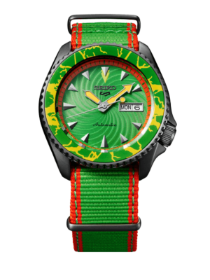 Montre Seiko 5 Sports Street Fighter V Limited Edition Blanka SRPF23K1