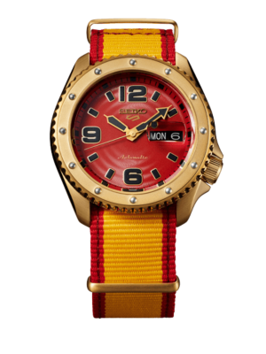 Montre Seiko 5 Sports Street Fighter V Limited Edition Zangief SRPF24K1