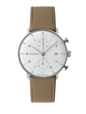 Junghans Max Bill Chronoscope 027/4502.04 Horloge