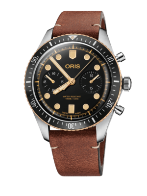 Montre Oris Divers Sixty-Five Chrono 01 771 7744 4354 - 07 5 21 45