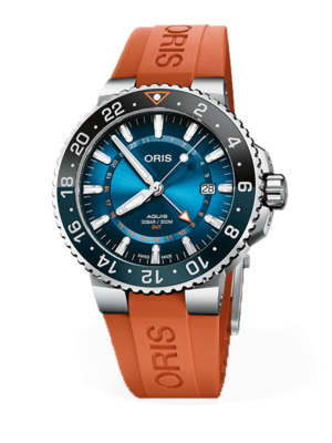 Oris Aquis Carysfort Reef Gold Limited Edition 01 798 7754 4185 Watch