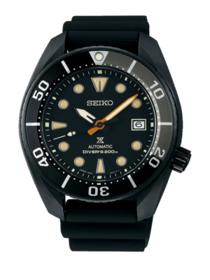 "Montre Seiko Prospex Automatic Divers 200m ""Black Series"