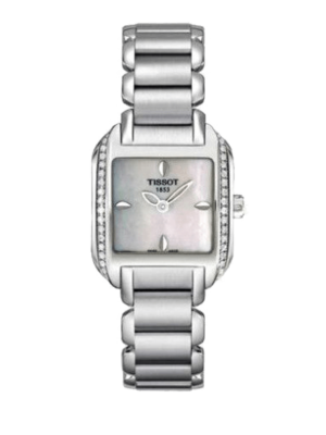 Tissot T-Wave Mother of Pearl Diamond T02138571 Horloge