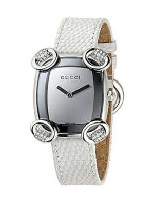 Montre Gucci Horsebit cocktail Diamond  YA117506