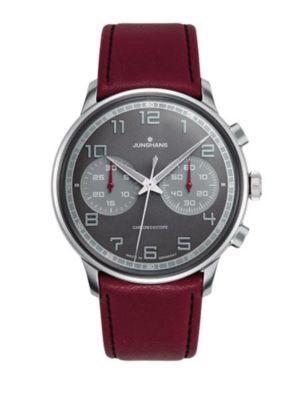 Junghans Meister Driver Chronoscope 027/3685.00 Watch