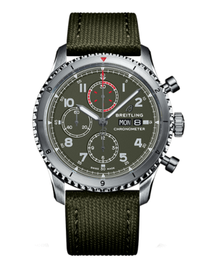 Breitling Aviator 8 Chronograph 43 Curtiss Warhawk A133161A1L1X2 Watch