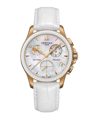 Certina DS First Lady Moon Phase Chronometer C030.250.36.106.00 Watch