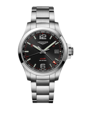 Longines Conquest V.H.P. GMT L3.718.4.56.6 Watch