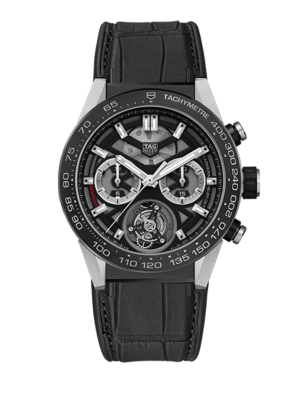TAG Heuer Carrera Tourbillon Calibre Heuer 02 T CAR5A8Y.FC6377 Watch