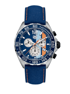 TAG Heuer Formula 1 Chrono Quartz Gulf Special Edition CAZ101N.FC8243 Watch