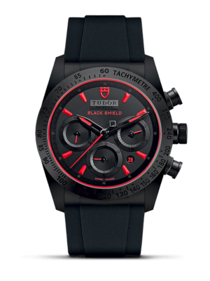 Tudor Fastrider Black Shield M42000CR-0001 Horloge