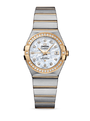 Omega Constellation Co-Axial Chronometer 27mm 123.25.27.20.55.003 Watch