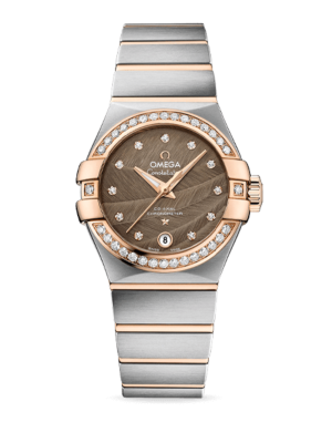 Omega Constellation Co-Axial Chronometer 27mm 123.25.27.20.63.001 Watch