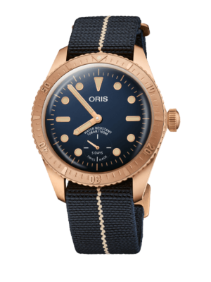 Montre Oris Divers Carl Brashear Calibre 401 01 401 7764 3485-Set Limited Edition