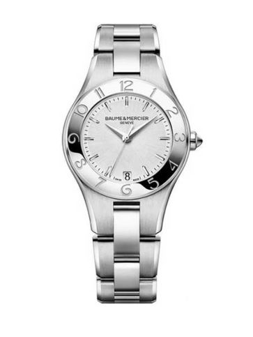 Baume et Mercier Linea Steel Quartz 10070 Watch