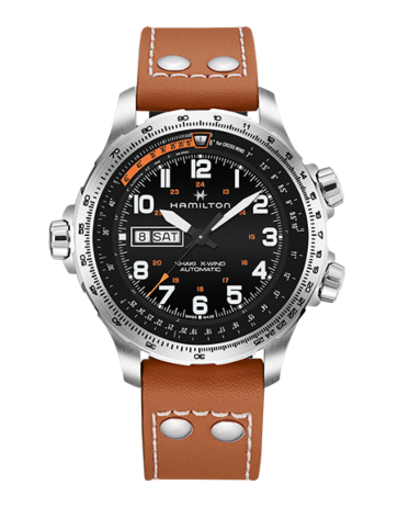 Hamilton Khaki Aviation X-Wind Day Date Automatic H77755533 Watch