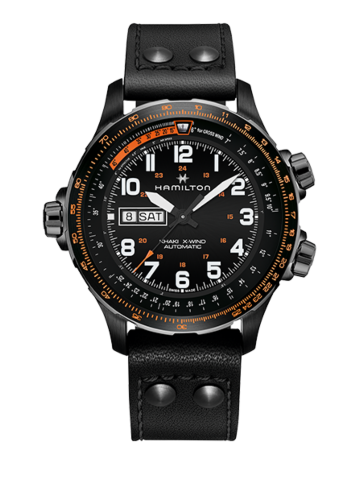 Hamilton Khaki Aviation X-Wind Day Date Auto H77785733 Watch