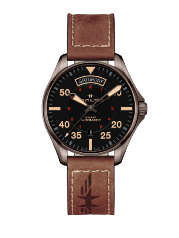 Hamilton Khaki Aviation Day Date Auto H64605531 Watch