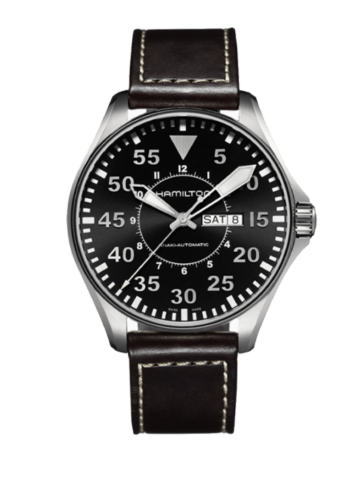 Hamilton Khaki Aviation Pilot Day Date Auto H64715535 Watch