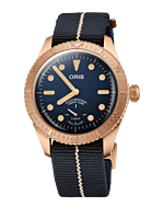 Oris Divers Carl Brashear Calibre 401 01 401 7764 3485-Set Limited Edition Watch