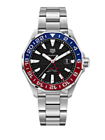 Montre TAG Heuer Aquaracer Calibre 7 GMT WAY201F.BA0927